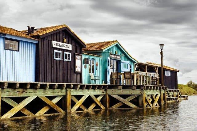 Cabanes de pêcheurs à Oléron